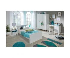 trendteam Jugendzimmer-Set Ole (Set 4-tlg), weiß, weiß/weiß