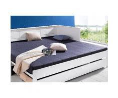 Komfortschaummatratze Breckle, 24 cm hoch blau Breckle Matratzen und Lattenroste Matratze