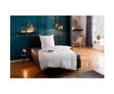 Federbettdecke + Federkissen, Jonas, Hanse by RIBECO, (Spar-Set) weiß Bettdecken Set Bettdecken, Kopfkissen Unterbetten Bettwaren-Sets
