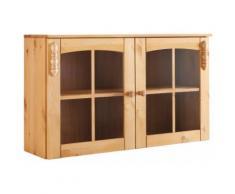 Home affaire Glashängeschrank braun Hängeschränke Küchenschränke Küchenmöbel