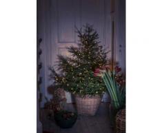 KONSTSMIDE LED Baummantel mit Ring, Globes grün Lichterketten und Lichtschlauch Dekoleuchten Lampen Leuchten Saisonartikel Weihnachten