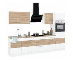 HELD MÖBEL Küchenzeile Trient, ohne E-Geräte, Breite 290 cm weiß Küchenzeilen Geräte -blöcke Küchenmöbel