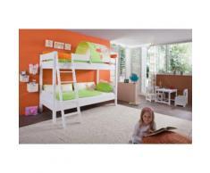 Relita Etagenbett weiß Kinder Kinderbetten Kindermöbel