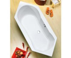 OTTOFOND Eckwanne Ravenna, mit Wannenträger weiß Badewannen Whirlpools Bad Sanitär