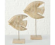 BOLTZE Dekofigur Ruben (Set, 2 Stück) braun Deko, Figuren Skulpturen SOFORT LIEFERBARE Wohnaccessoires Dekofiguren
