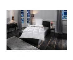 Daunenbettdecke + Federkissen, Emilia, OBB, (Spar-Set) weiß Daunendecke Bettdecken Bettdecken, Kopfkissen Unterbetten Bettwaren-Sets