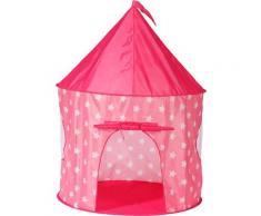 Knorrtoys Spielzelt Pink, white stars rosa Kinder Spieltunnel Outdoor-Spielzeug
