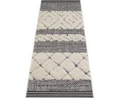 Läufer, Todra, MINT RUGS, rechteckig, Höhe 22 mm, maschinell gewebt schwarz Küchenläufer Läufer Bettumrandungen Teppiche