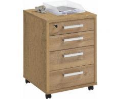 FMD Rollcontainer Calvi beige Büroschränke Büromöbel