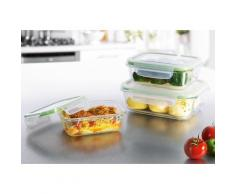 GOURMETmaxx Aufbewahrungsschüssel (6-tlg.) farblos Aufbewahrung Küchenhelfer Haushaltswaren Lebensmittelaufbewahrungsbehälter