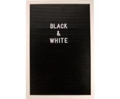 Home affaire Pinnwand, schwarz, schwarz