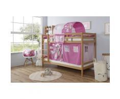 Ticaa Etagenbett Rene beige Kinder Kinderbetten Kindermöbel Etagenbetten