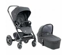 Kombi Kinderwagen Chrome DLX inkl. Fußsack, Adapter, Regenverdeck, Pavement