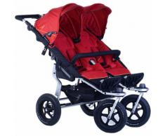 Zwillings- & Geschwisterwagen Twin Adventure tango red