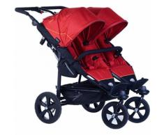 Zwillings- & Geschwisterwagen Twin Trail tango red