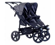 Zwillings- & Geschwisterwagen Twin trail 2, Premium, grey