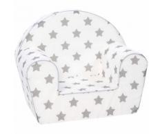 Kindersessel - Stars, grau