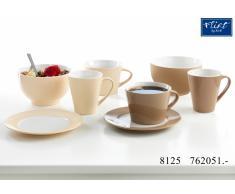 Frühstücks-Set Vida creme oder nougat - Frühstücks-Set 4tlg. creme