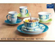 Frühstücks-Set Porto Azur - Kaffeebecher-Set 12tlg.