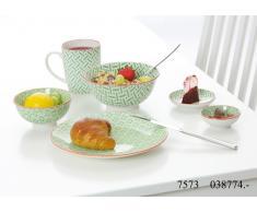 Frühstücks-Set Makina grün - Frühstücks-Set 6tlg.