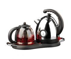 Edelstahl-Wasserkocher WSK-300.set mit Teekanne