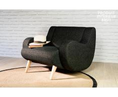 Schwarzer Sessel Genève
