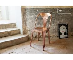 Vintage-Stuhl Multipl's Kupferfarben Industriedesign