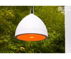 Deckenlampe Këpsta in Weiß skandinavisches Design