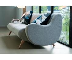Dreisitzer-Sofa Genève skandinavisches Design