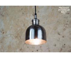 Silberfarbene Hängeleuchte Bartop Industriedesign