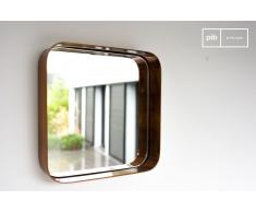 Quadratischer Spiegel Lena Industriedesign