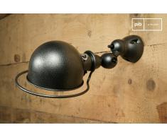 Gehämmerte Jieldé Wandleuchte Loft Industriedesign