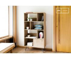 Bücherregal aus Holz Zürich skandinavisches Design