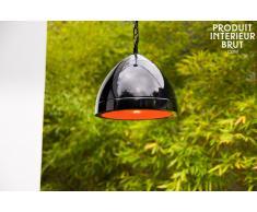 Deckenlampe Këpsta in Schwarz skandinavisches Design
