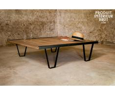 Couchtisch Bay Teck Industriedesign