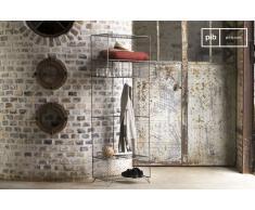 Kleiderschrank aus Gitter Ontario Industriedesign