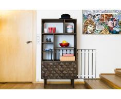 Bücherregal aus Holz Balkis skandinavisches Design