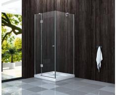 Alphabad Duschkabine GENERA 90 x 90 x 190 cm ohne Duschtasse