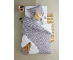 Bettwäsche-Set für Kinder, grau Gr. 140x200 - 63x63 von vertbaudet