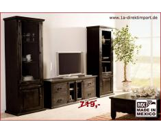 1a Direktimport Kolonialstil Lowboard TV-Tisch, Massivholz