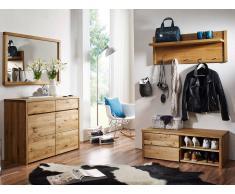 Möbel-Eins STEFFEN II Garderobenset Wildeiche
