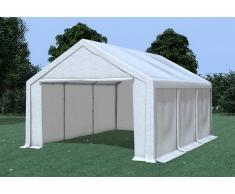 Stabilezelte Partyzelt Pavillon 4x6m Modular Pro PVC wasserdicht weiß