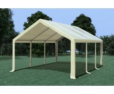 Stabilezelte Partyzelt Pavillon 4x6m Modular Pro PVC wasserdicht beige