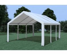 Stabilezelte Partyzelt Pavillon 4x6m Modular Pro PE wasserdicht weiß