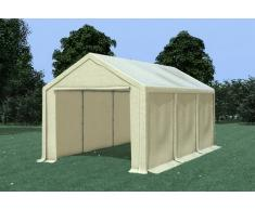 Stabilezelte Partyzelt Pavillon 3x6m Modular Pro PVC wasserdicht beige