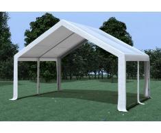 Stabilezelte Partyzelt Pavillon 5x4m Modular Pro PVC wasserdicht weiß