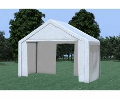 Stabilezelte Partyzelt Pavillon 4x2m Modular Pro PE wasserdicht weiß