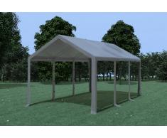 Stabilezelte Partyzelt Pavillon 3x6m Modular Pro PVC wasserdicht grau
