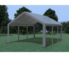 Stabilezelte Partyzelt Pavillon 4x6m Modular Pro PE wasserdicht grau