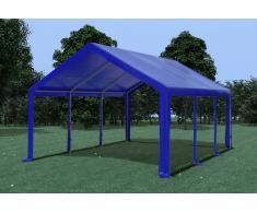 Stabilezelte Partyzelt Pavillon 4x6m Modular Pro PVC wasserdicht blau